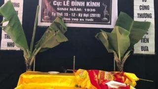 Hình ảnh đầu tiên về đám tang ông Lê Đình Kình