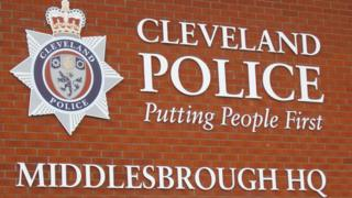 Middlesbrough police station sign