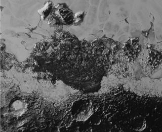 A 350km-wide view of Pluto
