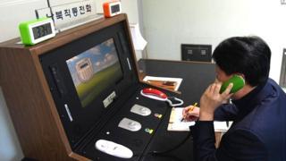 """Funcionario surcoreano utiliza la """"línea directa"""" con Corea del Norte"""