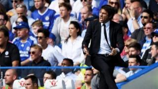 Antonio Conte yafashije Chelsea gutwara igikombe ca Premier League mu mwaka uheze