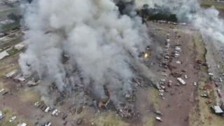 Le marché de San Pablito réduit en cendres