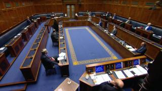 Assembly chamber on Tuesday 30 June