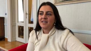 Ivana Ninčević-Lesandrić, diputada de la oposición en Croacia.