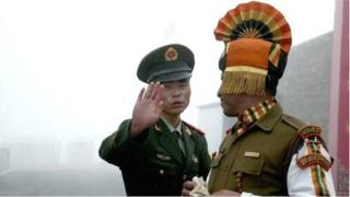 भारत र चीनका सेना
