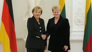 Меркель та Грибаускайте