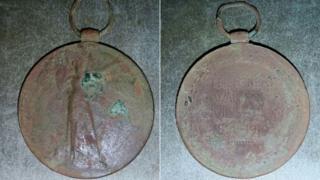 WWI medal belonging to Pte William John Boaden