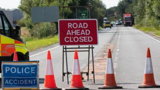 Accident on A47 in Cambridgeshire