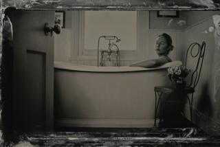 Woman in the bath