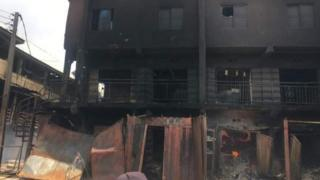 Onitsha market fire: Why Nigerians no dey like to insure dia property