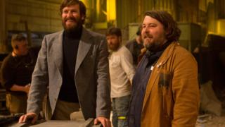 Ben Wheatley, right, and Armie Hammer