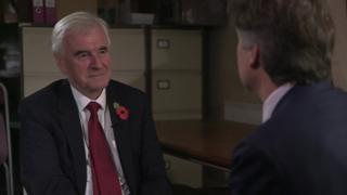 John McDonnell interviewed by Nicholas Watt