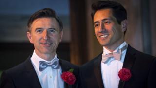 Peter and David's wedding, 2014