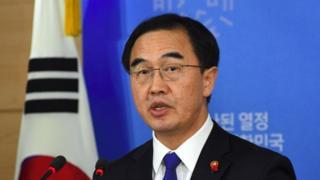 Міністр у справах національного об'єднання Республіки Корея Чо Мін Гюн