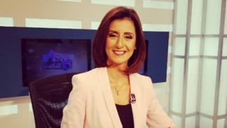 Promotional image for OnTV's Al-Soura Al-Kamila showing Liliane Daoud (14 May 2016)