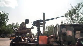 Sojojin Najeriya da ke fada da Boko Haram