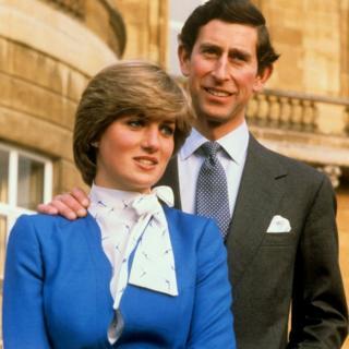El príncipe Carlos y la princesa Diana en 1981.