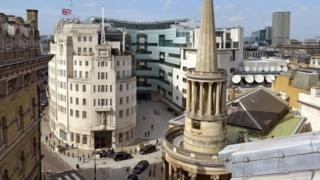 लंदन स्थित बीबीसी हेडक्वार्टर