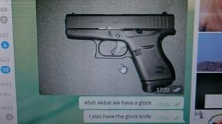 A gun image posted by Jimmy F