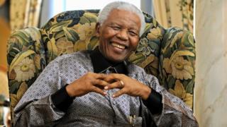 Nelson Mandela, June 2008