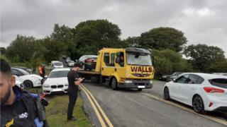 Car moved from the Brecon Beacons