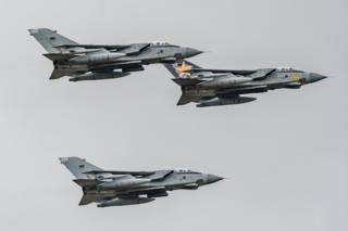 Tornados flying over RAF Benson