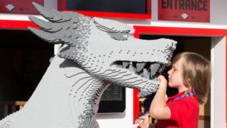 Stanley Bolland, 7, at Legoland Windsor
