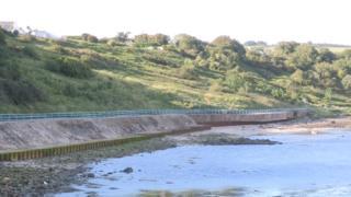 The Blackhead Path at Whitehead in County Antrim