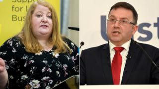 Naomi Long and Robin Swann