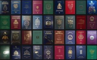 Pasaportes de varios países del mundo. Foto: Passport Index