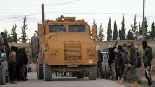 Reuters Türk askeri Menbic