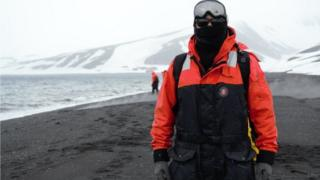 Leonardo José Silva Na Antártida