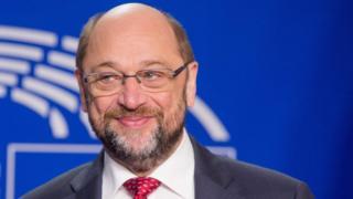 European Parliament President Martin Schulz, file pic