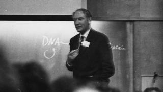 Francis Crick (c) Cold Spring Harbor Laboratory