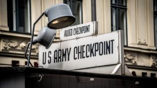 Checkpoint em Berlin
