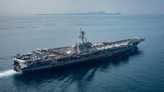 Carl Vinson savaş gemisi