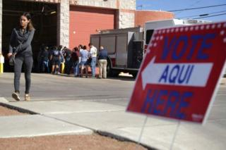 رای گیری در ال پاسو در تگزاس