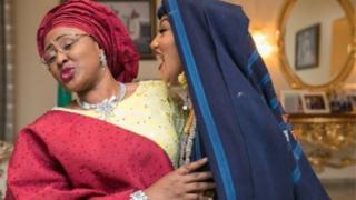 Aisha Buhari and her pickin, Zahra