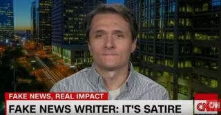 Paul Horner speaks on CNN