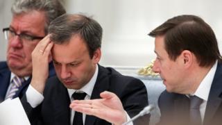 Вице-премьеры Приходько, Дворкович, Хлопонин
