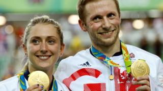 Laura Kenny and Jason Trott