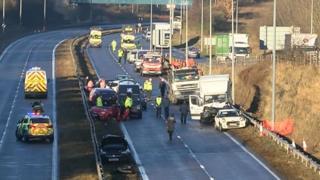 A19 crash near Seaham