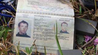 Паспорт Андреа Рокеллі