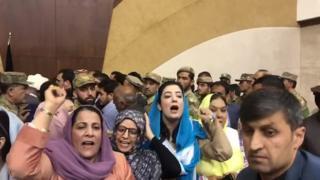 دعوا در مجلس نمایندگان افغانستان بر سر انتخاب رئیس جدید
