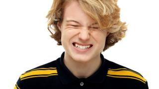 Teeth-grinding in a teenage boy