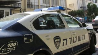 Israeli police car (file)