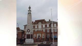 The Grays war memorial
