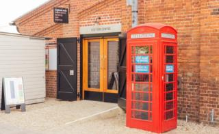 Phonebox and Snape Maltings Concert Hall