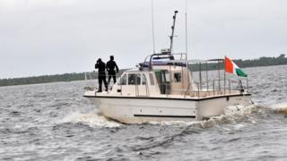 патрульный катер в Гвинейском заливе