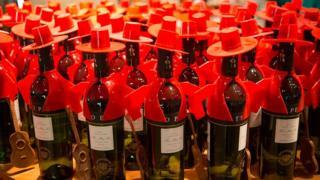 sherry bottles